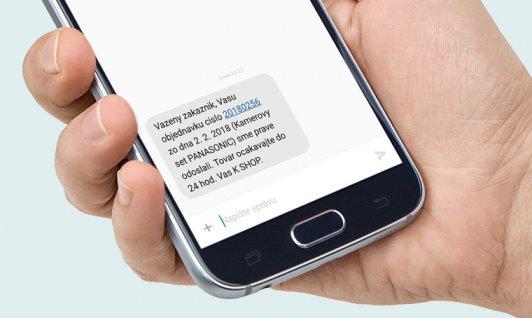 Budujte vzťahy so zákazníkmi prostredníctvom SMS notifikácií