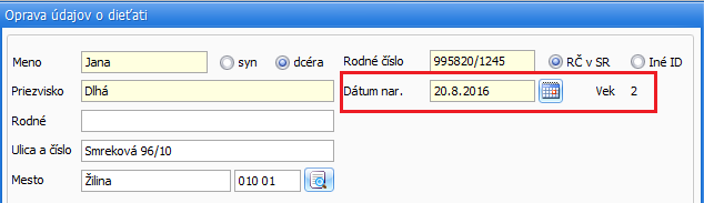 rýchlosť datovania NB