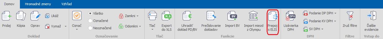 ELIS – automatické spracovanie dokladov