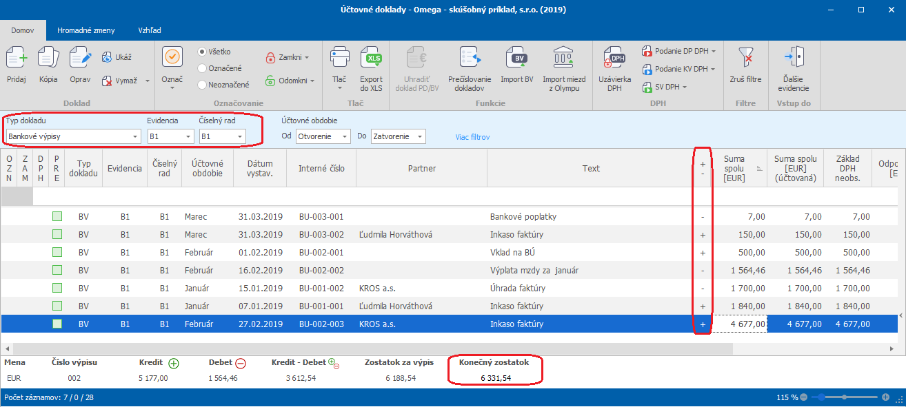 Prvá e-mailová šablóna pre online dátumové údaje