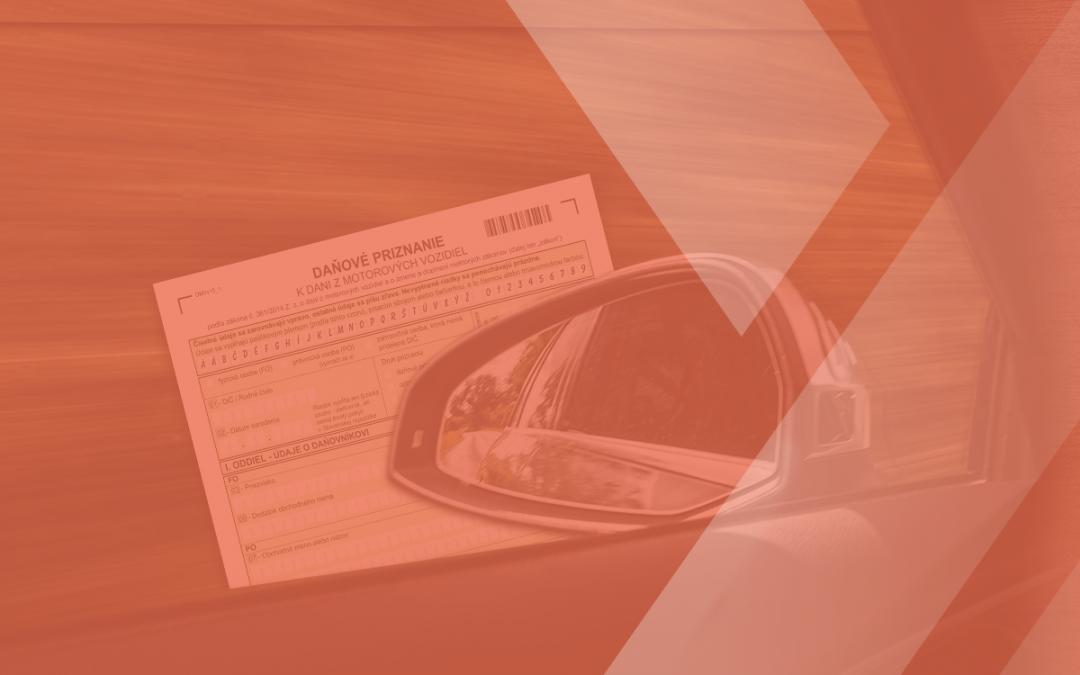 Daňové priznanie k dani z motorových vozidiel za rok 2020