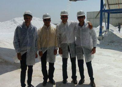 Vstup surovej soli na ďalšie spracovanie